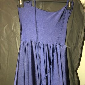 American Apparel Blue figure Skater Dress